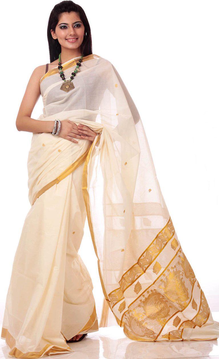 New fashion sarees in kerala 9